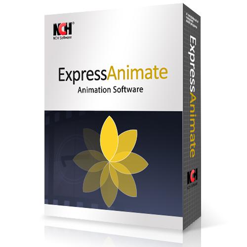 Le logiciel Express Animate de la suite NCH