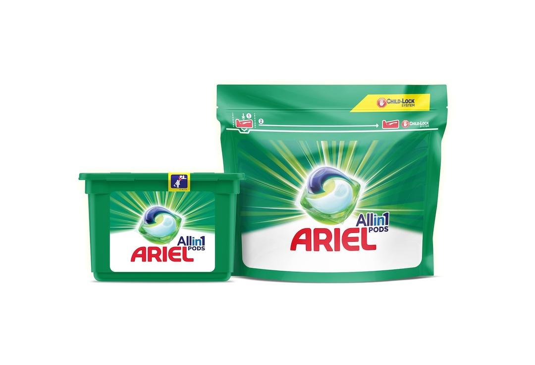 Packaging Ariel